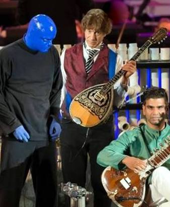 Blue Man Group,Richard Bernard,Bouzouki,Sitar,Hollywood Bowl,Klezmer,Conductor