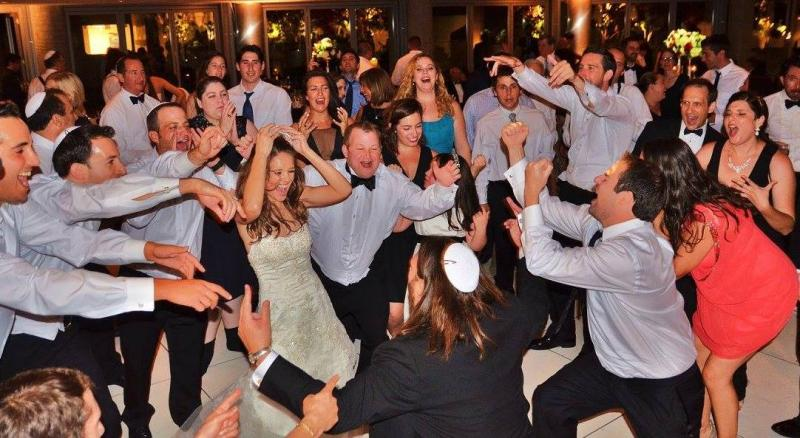 Dancing Jewish circle dance,HORA,Los Angeles Wedding, Bat or Bar Mitzvah,Klezmer
