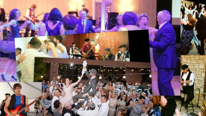 Klezmer Los Angeles helps you find great HORA dance music, Hire live musicians