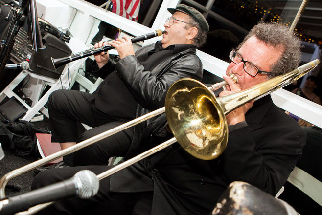 Klezmer horns,Clarinet,Trombone,Fiddle,Guitar,Hora,OY!Stars,Oystars,Oysters,band