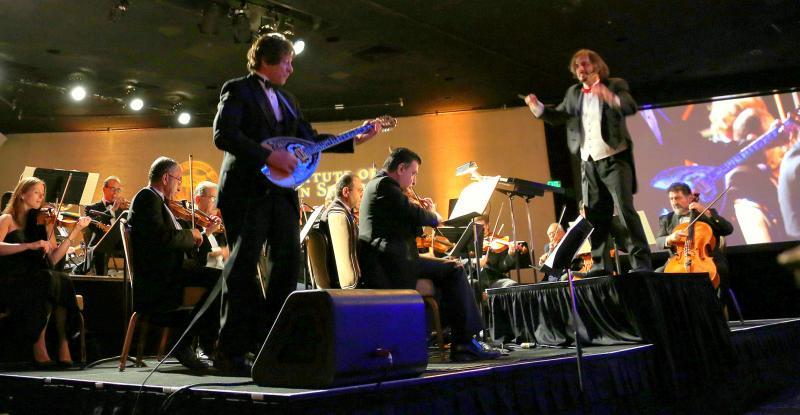 Richard Bernard,Bouzouki,Greg Hosharian,Armenian Pops, Jewish Orchestra Concert