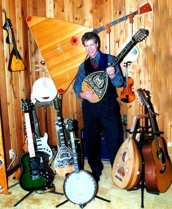 bouzouki,balalaika,violin,domra,oud,banjo,ethnic music,12 string guitar,Chinese