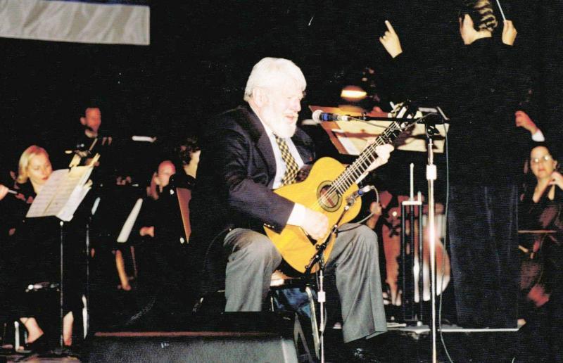Theo Bikel,Theodore Bikel,Richard Bernard,Greek Theatre,LA Jewish Symphony,music